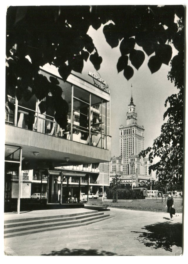 Pałac Kultury i Nauki oraz Cepelia, Warszawa PRL
