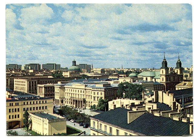 Warszawa, widok ogólny - WARSZAWA PRL