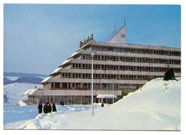 Wczasy PRL - Sanatorium BUDOWLANI  w Krynicy, 1977