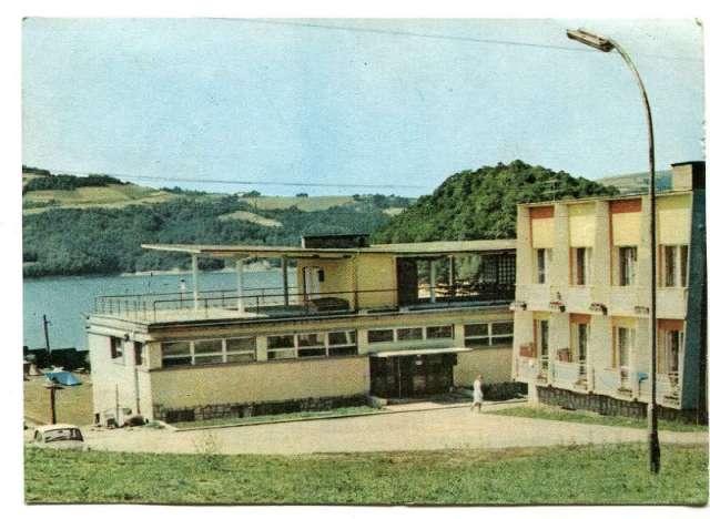 Biuro Wydawnicze RUCH Wczasy w PRL - Kobyle Gródek Hotel i restauracja fot. K. Kaczyński 1970