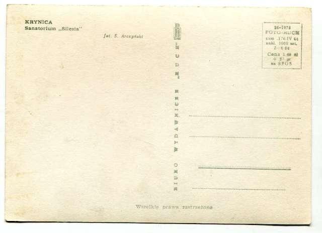 Wczasy w PRL stare pocztówki 189