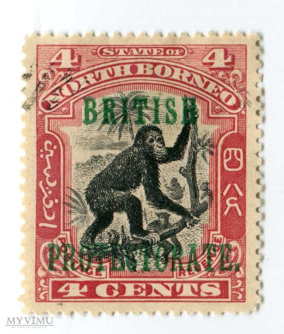 Znaczek Pocztowy Borneo Północne 10