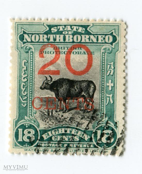 Znaczek Pocztowy Borneo Północne 12