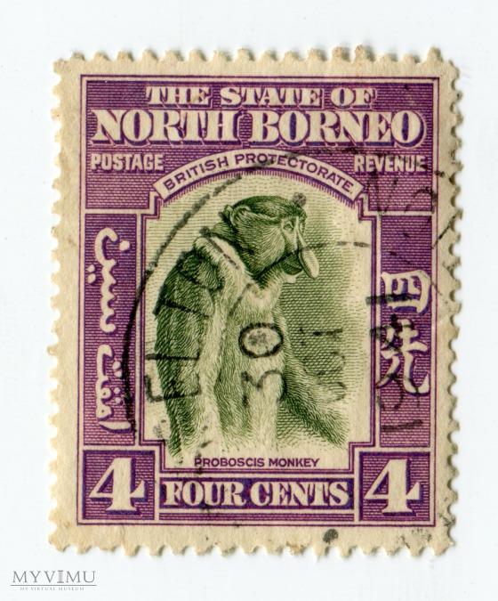 Znaczek Pocztowy Borneo Północne 13