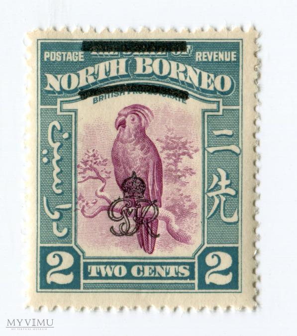 Znaczek Pocztowy Borneo Północne 16