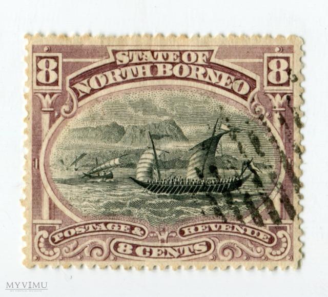 Znaczek Pocztowy Borneo Północne 2