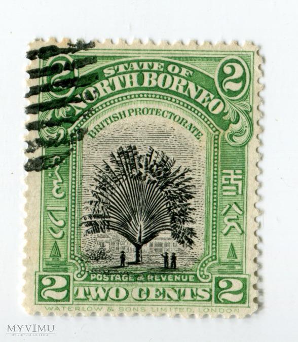 Znaczek Pocztowy Borneo Północne 3