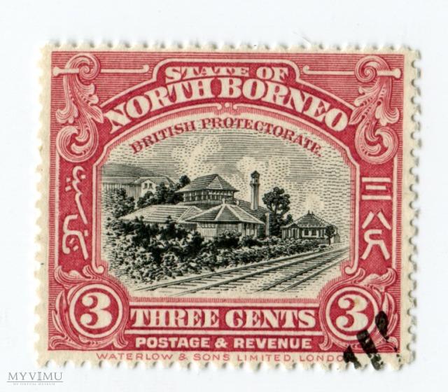 Znaczek Pocztowy Borneo Północne 6