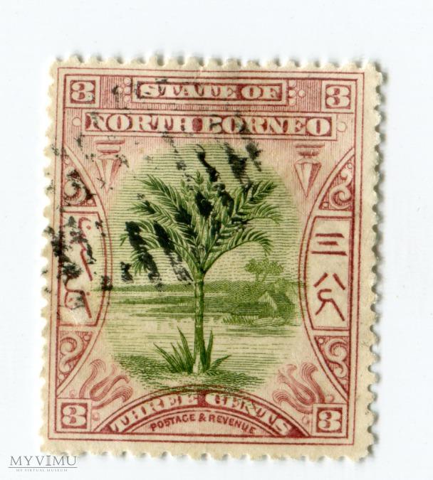 Znaczek Pocztowy Borneo Północne 7