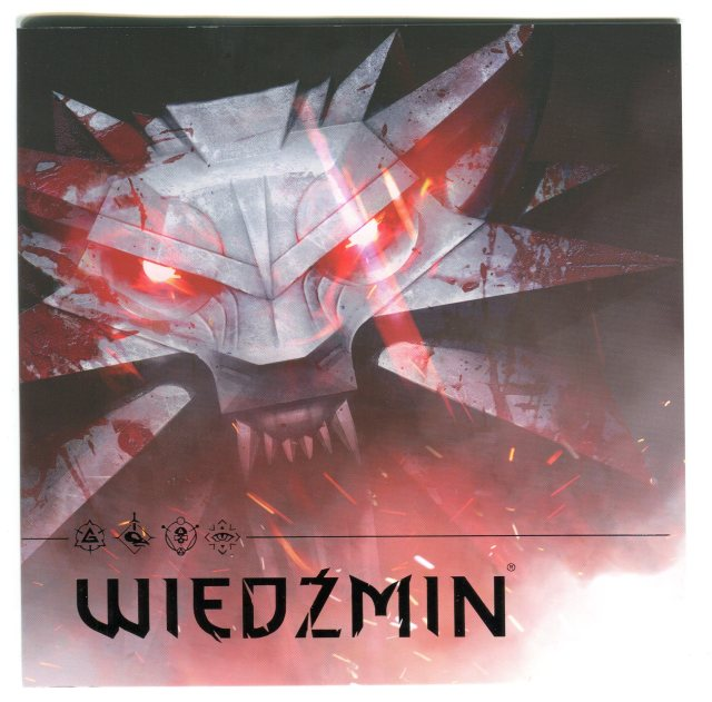 Wiedźmin - znaczek pocztowy 2016, Witcher postal stamp 2016